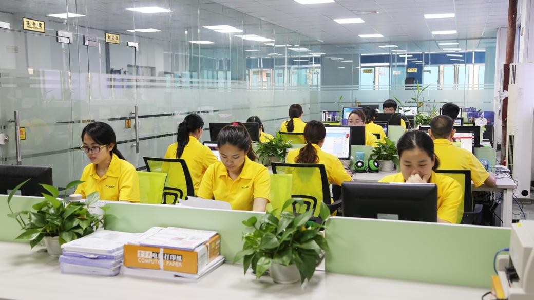 深圳市科汇兴科技有限公司员工办公室环境